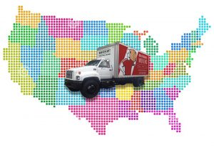 long distance moving service across country